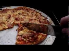 """Keto/Paleo-friendly """"Oopsie roll"""" pizza base - cutting the cheese"""