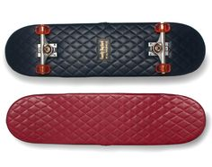 Casely Hayford x H by Harris   Quilted Leather Skateboard