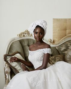 Looking for a Bridal Turban? Here are Some Options from Turban Tempest Beautiful Black Women, Beautiful People, Robes Glamour, Looks Dark, Black Bride, Black Girl Aesthetic, Foto Pose, Bridal Beauty, Bridal Looks