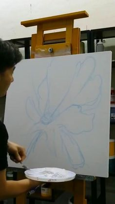 Canvas Painting Tutorials, Diy Canvas Art, Abstract Painting Techniques, Knife Painting, Abstract Art, Pintura Graffiti, Gold Leaf Art, Gold Art, Texture Painting