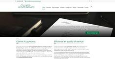 Website, Web design, Accountant