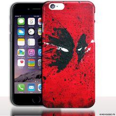 Coque iPhone 6 Apple | Desing Dead Pool Paint | Dimension 4.7 pouces | Coque rigide | Housse silicone