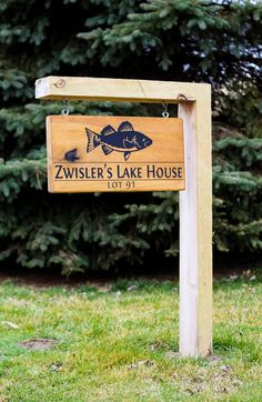 Custom Home Sign.Home Address Sign(Yard Sign), Lake House Signs, Cabin Signs, Cottage Signs, Lake Signs, Address Signs For Yard, House Address Sign, Custom Outdoor Signs, Custom Yard Signs, Driveway Sign