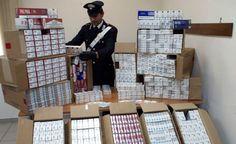 Napoli, contrabbando: sequestrati oltre 6.000 pacchetti e arrestati 2 contrabbandieri