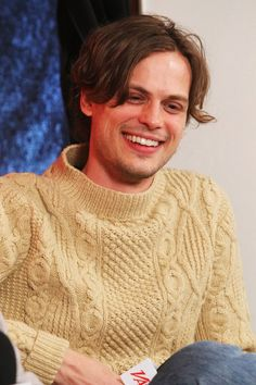 A wonderful shot of Matthew Gray Gubler, he's my favorite character in Criminal Minds because he often will overcome the villain by his courageous ability to open up.
