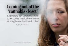 Vets come out of 'cannabis closet,' asking VA to allow pot as treatment.