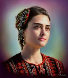 Art Discover 40 Amazing Photorealistic Color and Lead Pencil Drawings by Art Teacher Turkish Women Beautiful, Turkish Beauty, Turkish Fashion, Turkish Art, Cute Girl Photo, Beautiful Girl Photo, Girl Pictures, Girl Photos, Colored Pencil Portrait
