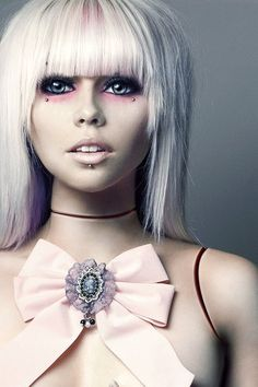 Kerli Bubble Goth style