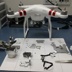 Phantom 3 standard checking in for a camera flex and pitch arm replacement! Lets get to work and have this baby filming in a couple of hours!  #DronesResQ #Drone #Repair #Crash #Soldering #RanchoCucamonga #SoCal #DroneRepair  #RC #M3D #3Dprinting #Zmr250 #Rebuild #Quadcopter #FPV #DJI #Phantom3standard #Gimbal #Aerialphotography by dronesresq