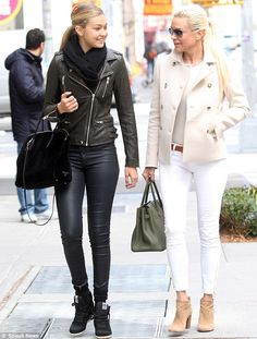 Like daughter, like mother! Real Housewives of Beverly Hills star Yolanda Foster stepped out with her child Gigi Hadid in New York City on Tuesday