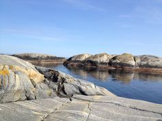Typical landscape along the Norwegian Southern coastline