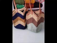 Pdf Crochet Pattern And Full Video Tutor Crochet Bag Tutorials, Crochet Purse Patterns, Crochet Videos, Crochet Beach Bags, Crochet Market Bag, Crochet Bags, Crochet Hobo Bag, Plastic Bag Crochet, Crochet Rope
