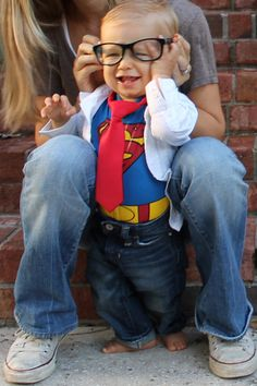 Baby Clark Kent!