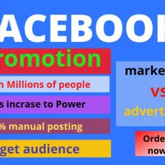 If you are thinking about improving your business. You are at the right place. Facebook promotion is the best way to improve your business. I am a digital marketer. Facebook Champaign have my professional training.  my services:  Promote your FB page millions of active Create attractive post Set-up campaign Organic post advertising Article writing  expand your Brand value  Excellent  products videos editing Online Marketing, Digital Marketing, Seo Professional, Advertise Your Business, Competitor Analysis, Article Writing, Fb Page, People Around The World, Video Editing