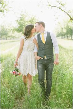 Vest & denim for him, great look! Add a tie coordinating color with your wardrobe or accessories. Engagement Photo Inspiration, Engagement Pictures, Engagement Shoots, Wedding Inspiration, Couple Photography, Engagement Photography, Wedding Photography, Photography Ideas, Groom Attire