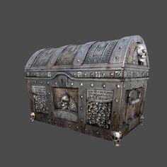 treasure chest max - Treasure Chest... by nimlot26 ( http://www.turbosquid.com/3d-models/treasure-chest-max/669318, 2013 )