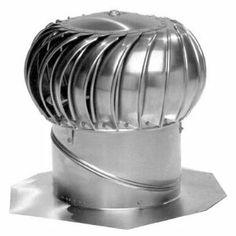 Wind Roof Turbine Ventilator Home Ventilation 12 Inch Vent Air Attic Aluminum