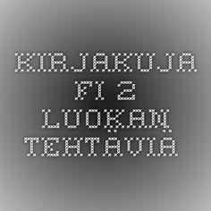 Kirjakuja.fi - 2. luokan tehtäviä.
