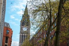 Manchester Town Hall from Lincoln Square