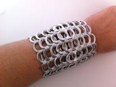 Armband gemaakt van bliklipjes van Armbandenenzo op Etsy, €25.00