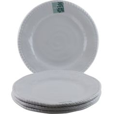 White Hobnail. HEAVYWEIGHT MELAMINE PLATES. Dinner Plates. Set of 4. DISHWASHER SAFE. | eBay! | Plates | Pinterest | Dinner plate sets and Dishwasheu2026  sc 1 st  Pinterest & Il Mulino. White Hobnail. HEAVYWEIGHT MELAMINE PLATES. Dinner Plates ...