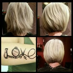 She just needed a clean up ♡ Hair by Kimmie Moore @ Entourage Salon and Spa in Des Moines Washington.  206 824 4176