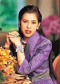 The Princess Chulabhorn Walailak of Thailand (b. 1957). She is a daughter of King Rama IX (Bhumibol Adulyadej) and his wife, The Mom-Rajawongse Sirikit Kitiyakara. She was the wife (1982-1984) of Virayudh Tishyasarin. Her children are The Princesses Siribhachudhabhorn and Adityadhornkitikhun.