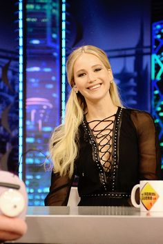 Jennifer Lawrence at 'El Hormiguero' on December 15th.