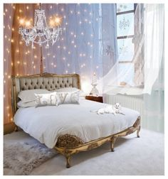 Bedroom Decoration Trends With Fairy Light : Best Fairy Lights For Bedroom
