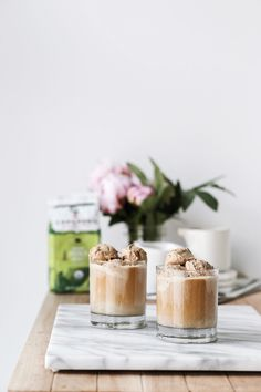 a coffee ice cream and cold brew float, perfect for summer with cameron's coffee Ice Cream Drinks, Ice Cream Floats, Coffee Ice Cream, Iced Coffee, Coffee Shop, Cocktail Juice, Tea Cocktails, Yummy Treats, Sweet Treats