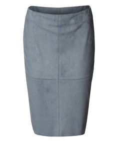 Look what I found on #zulily! Ice Blue Pencil Skirt by Devoted by Dex…