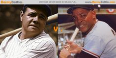 Babe Ruth Vs Willie Mays. Have you ever debated with a friend on who is the best baseball player ever? #BabeRuth #WillieMays #Baseball CLICK HERE TO VOTE!!! http://www.barmybattles.com/2013/12/23/babe-ruth-vs-willie-mays/