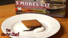 Aussie Makes S'mores for the 1st Time | One Pot Chef