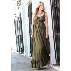 Plus Size Linen Maxi Dress | Plus Size New Dresses | Jessica London