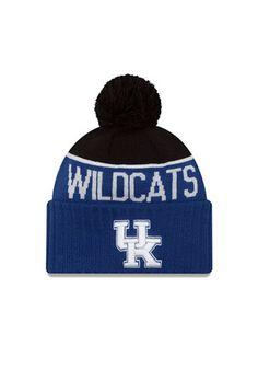 New Era Kentucky Wildcats Blue Ne 15 Sport Knit Hat University Of Kentucky a040ea02137c