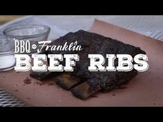 Smoked Beef Ribs: Beefy, Beefy Goodness for Your Belly