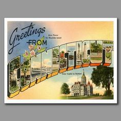 14 best greetings from postcards images on pinterest in 2018 connecticut vintage postcard m4hsunfo