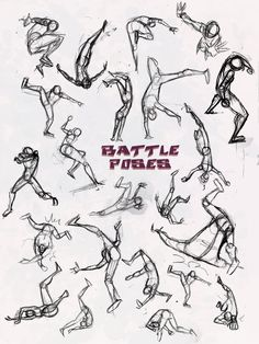 Battle Pose- Dodge and Pwned by NebulaInferno on deviantART