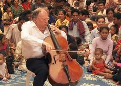 Beat Richne - In the last 20 years, the Swiss pediatrician and cellist, Beat Richner, has built five children's hospitals in Cambodia and treated over ten million Cambodian children free.