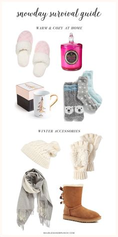 Snow Day Survival Guide » Baubles & Brunch