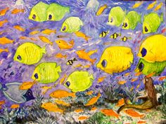 GALERIA PALOMO MARIA: SIRENITA Painting, Water Colors, Paintings, Mermaid, Scenery, Painting Art, Drawings