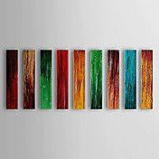 Hand geschilderd olieverfschilderij Abstract ... – EUR € 156.74