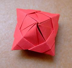 origami simple box | Flickr - Photo Sharing!