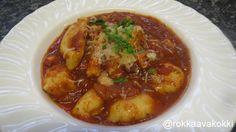 @rokkaavakokki: Gnocchit ja tomaattisoosi