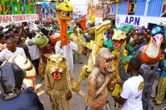 Carnaval 2014 in Jacmel south of Haiti Grace Art, Caribbean Sea, West Indies, Vacation Spots, Places To Go, Art Camp, Culture, Festivals, Beauty