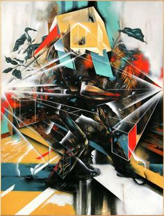 "Dave Kinsey, Dave Kinsey, ""Riot and Reason"", Archival Pigment Print, 2014 Art Institute Of Pittsburgh, Mural Art, Art Fair, Community Art, Art Drawings, Graffiti Drawing, Street Art, Abstract Art, Illustration Art"