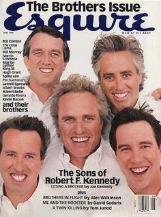 Magazine about Robert F. Kennedy's sons. Joe Kennedy Ii, Ethel Kennedy, Robert Kennedy Jr, John Fitzgerald, Esquire, Greatest Presidents, Jfk, Diana, Pharmacy