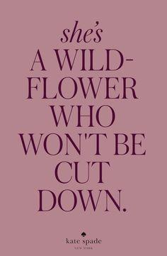 Wildflower woman