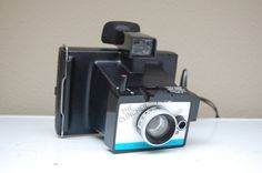 polaroid camera the clincher Vintage Polaroid, Instant Camera, Binoculars, Polaroid Cameras, Etsy, Collection