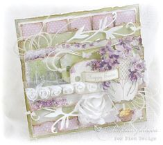 My Little Craft Things: Pion Design - Violet Easter Greetings with Video
